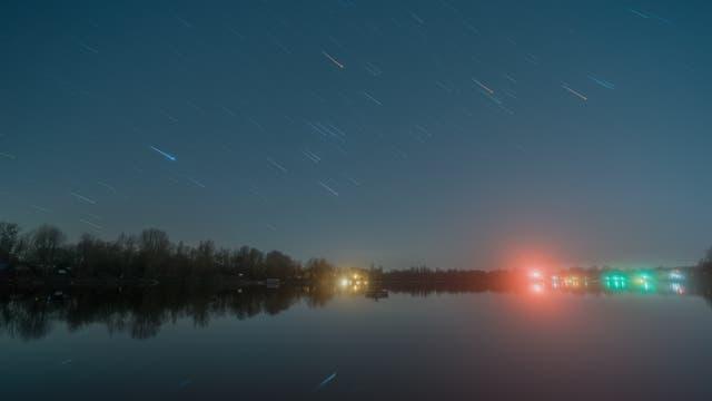 Sternspuren des Orion