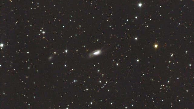 """NGC 6239 ("""" Cockroach Galaxy"""", La Cucaracha"""") pekuliäre Galaxie im Herkules (1)"""