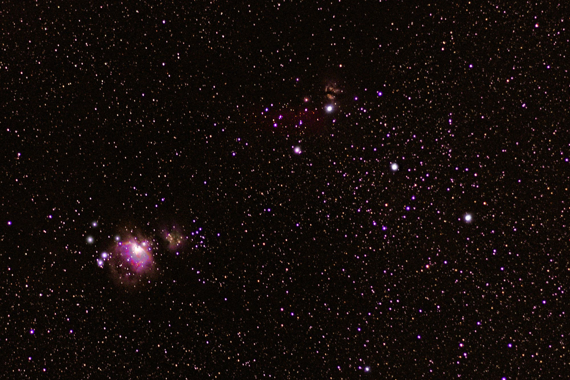 Emissionsnebel im Sternbild Orion