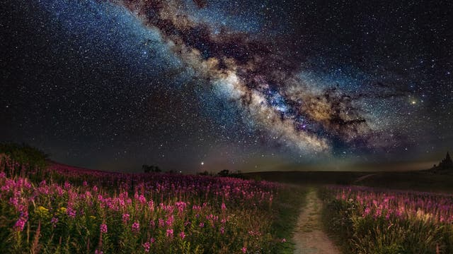 Milchstraßen-Komposit
