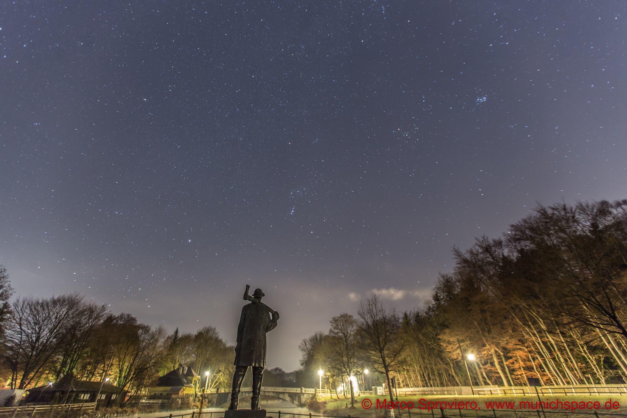 Der Himmelsjäger und der Flößer in München