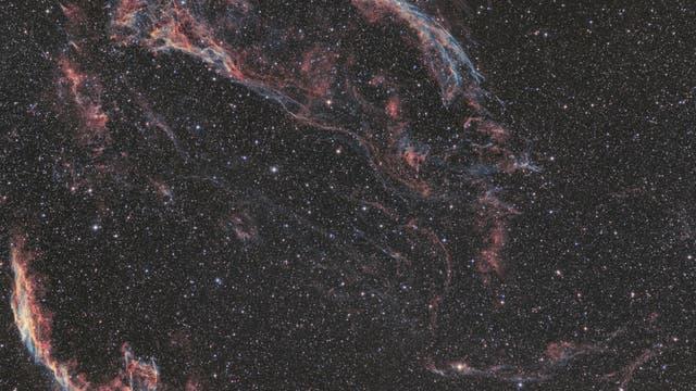 Supernova-Remnant im Sternbild Schwan