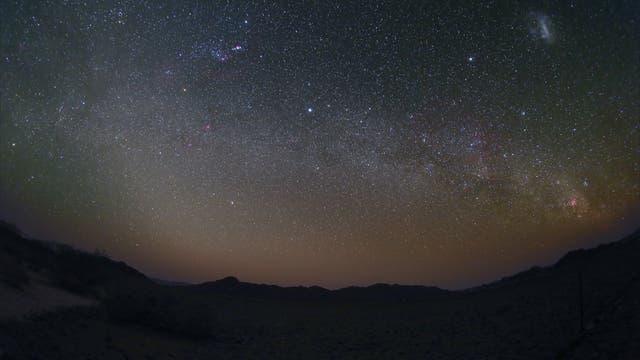 Orion bis Eta Carinae Milchstraße