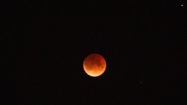 Totalität der Mondfinsternis