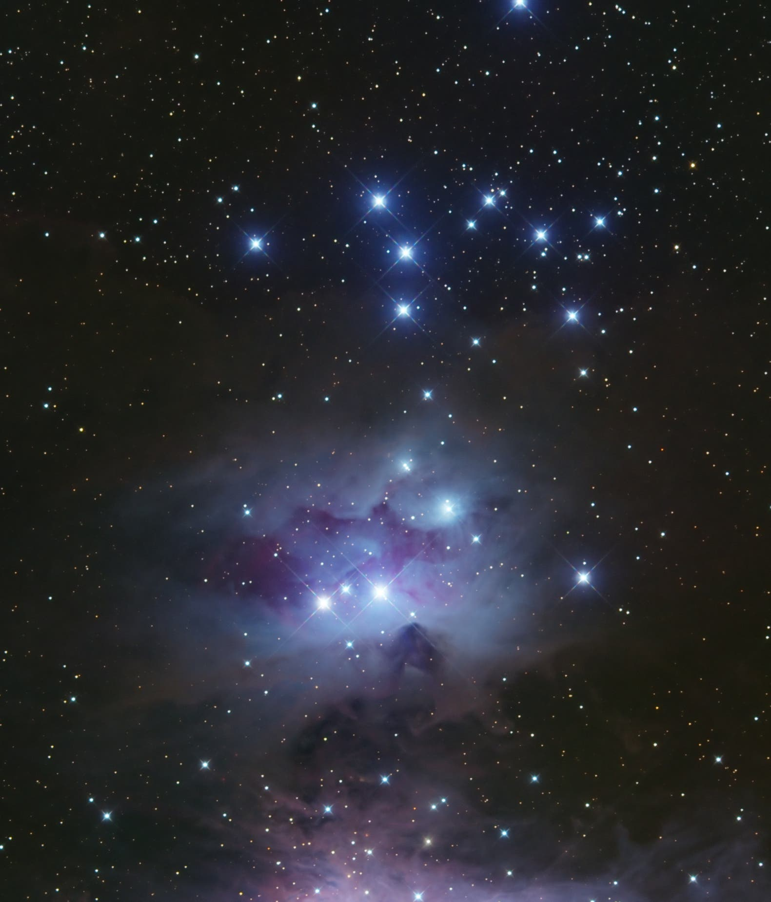 SH2-279 (alias Running Man) im Schwert des Orion