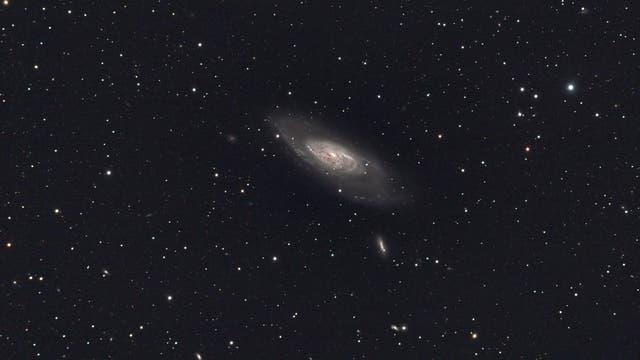 Messier 106 in den Jagdhunden