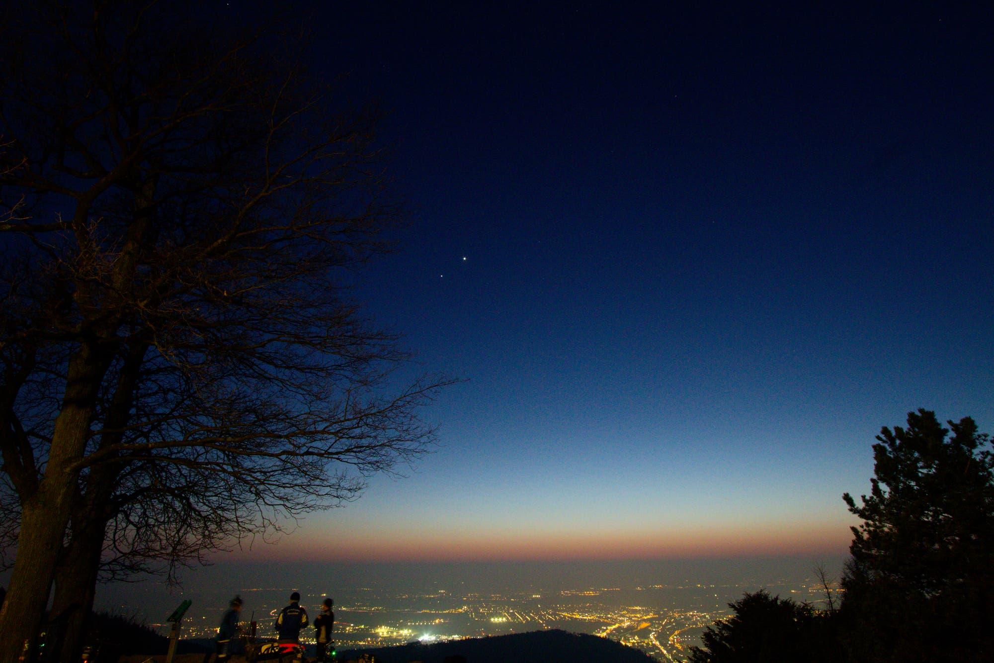 Ein Monat mit Venus, Jupiter und Mond – Bild 3