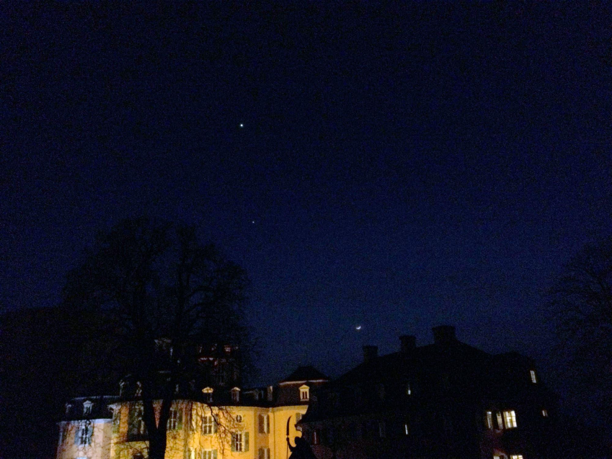 Ein Monat mit Venus, Jupiter und Mond – Bild 4