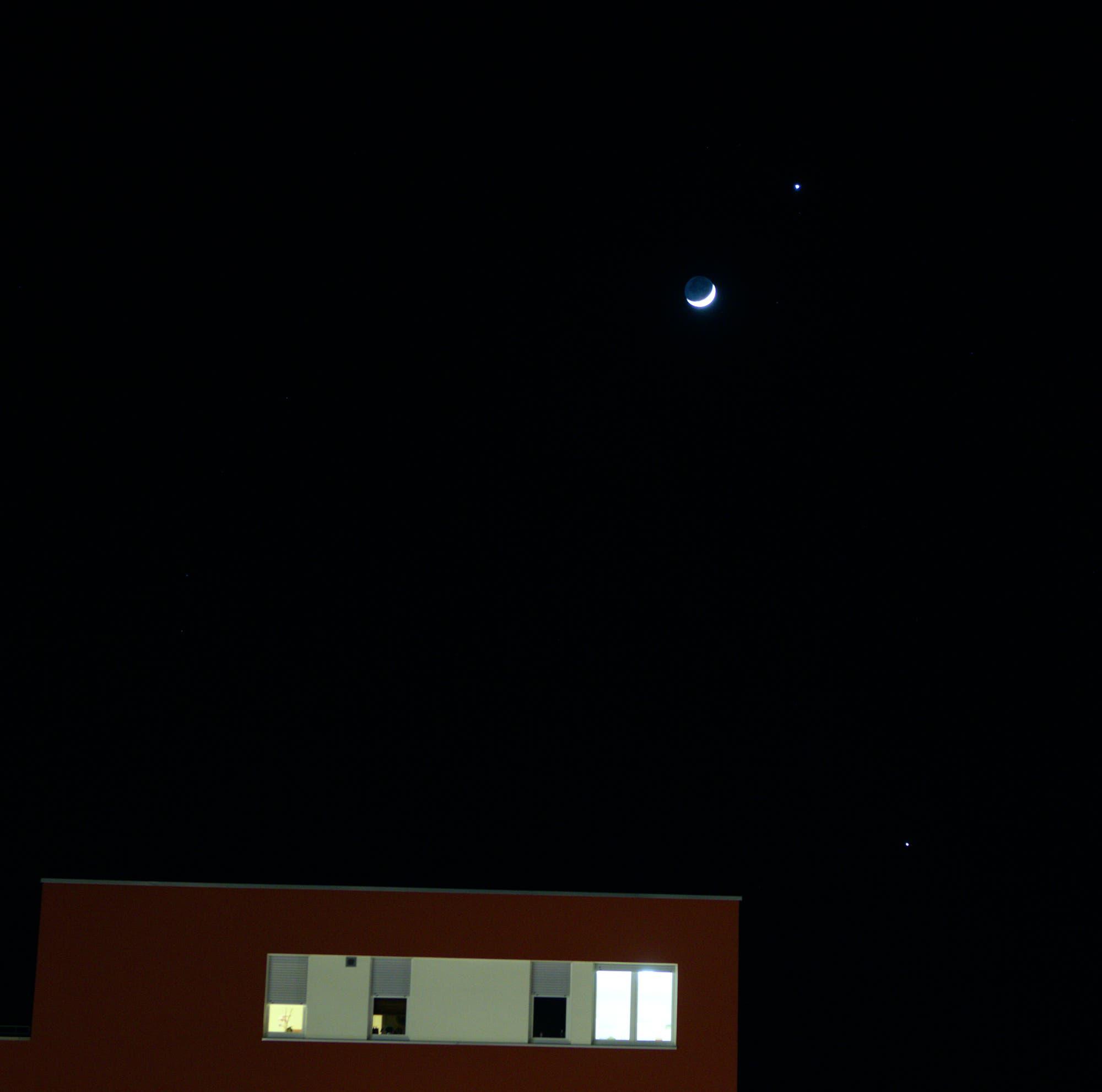 Ein Monat mit Venus, Jupiter und Mond – Bild 6
