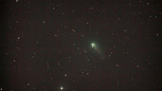 Komet C/2012 K1 (PANSTARRS) im Grenzberich Bärenhüter / Großer Bär
