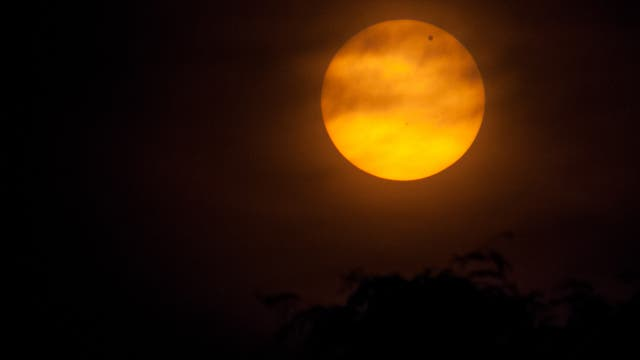 Venustransit 2012 von Merseburg aus gesehen