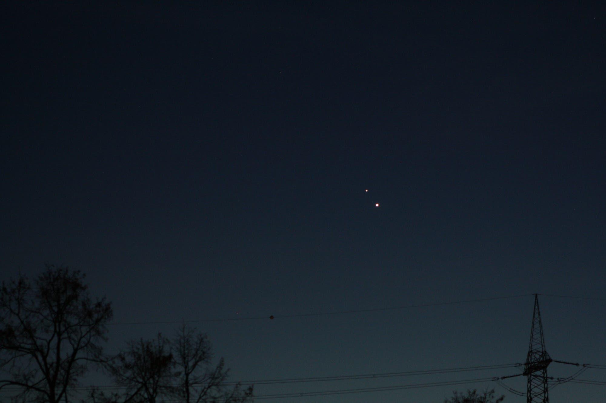 Konstellation Jupiter / Saturn