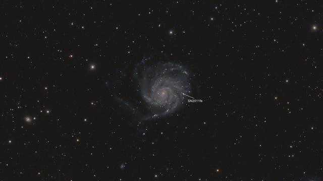 SN 2011fe in Messier 101