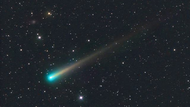 Komet ISON (C/2012 S1) am 8.11.2013