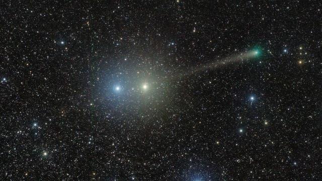 Comet PanSTARRS between Centaurus jewels