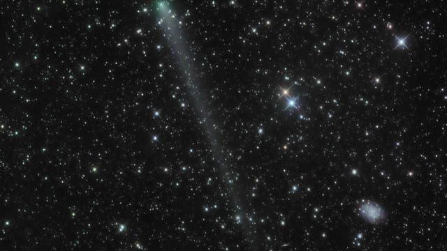 Comet PanSTARRS departs