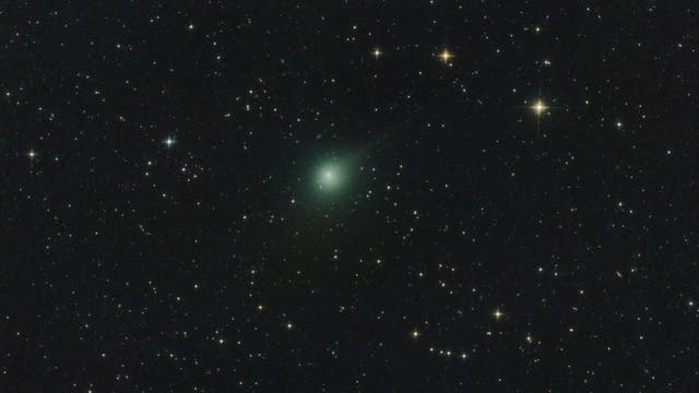 The anti-tail of comet C/2014 Q2 Lovejoy