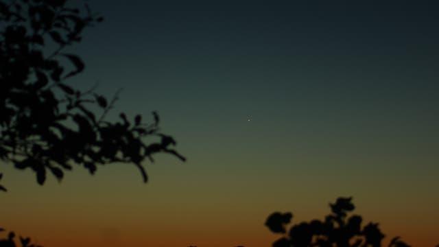 Merkur in der Morgendämmerung über Uelzen