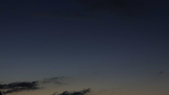 Planetenreigen mit Merkur am Morgen des 14. September 2017  über Uelzen (1)