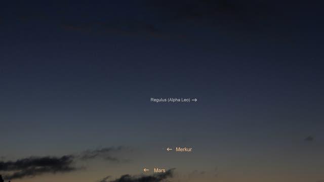 Planetenreigen mit Merkur am Morgen des 14. September 2017  über Uelzen (2))