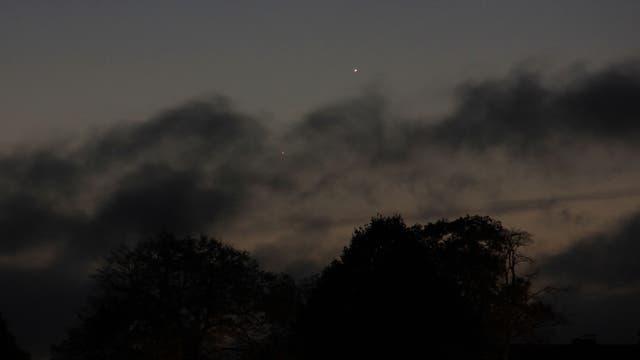 Merkur und Mars am Morgen des 15. September 2017 über Uelzen (1)