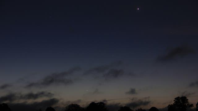 Planetenreigen mit Merkur am Morgen des 15. September 2017  über Uelzen (1)