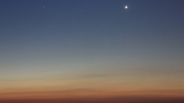 Planetenreigen mit Merkur am Morgen des 16. September 2017 (1)