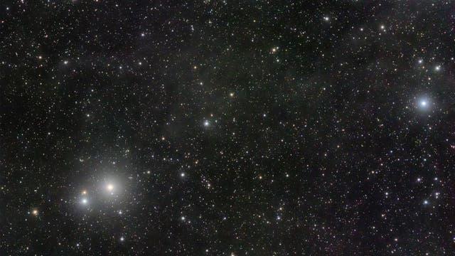 Comets conjunction ASASSN & PANSTARRS