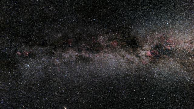 Die Milchstraße vom Perseus über Kassiopeia, Kepheus/Eidechse bis zum Schwan