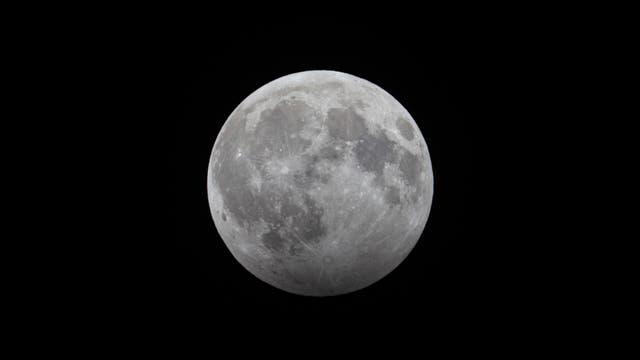 Halbschatten-Mondfinsternis am 10. Januar 2020