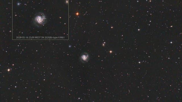 M61 Supernova SN 2020jfo Typ II