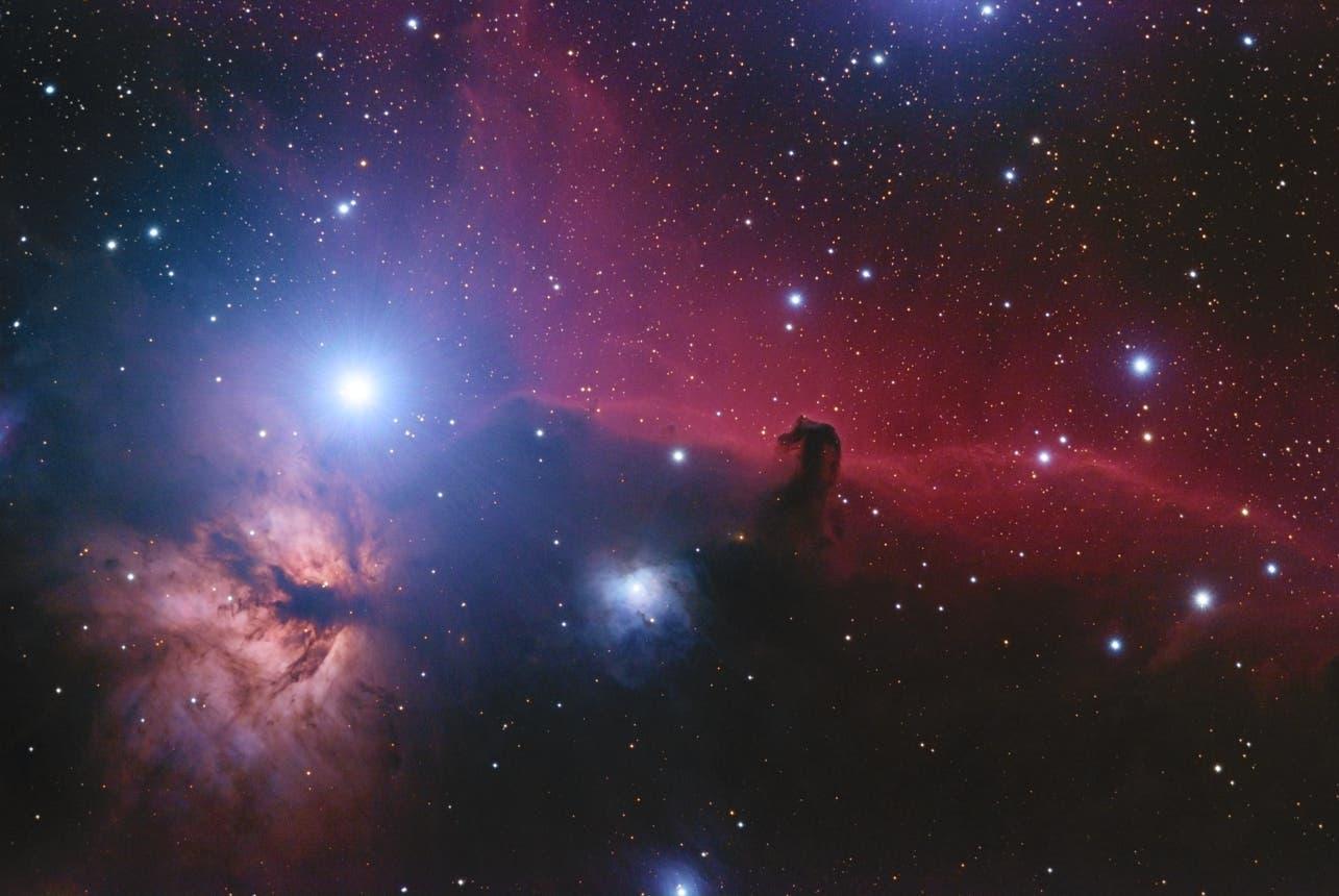B33, IC434 u. NGC2024
