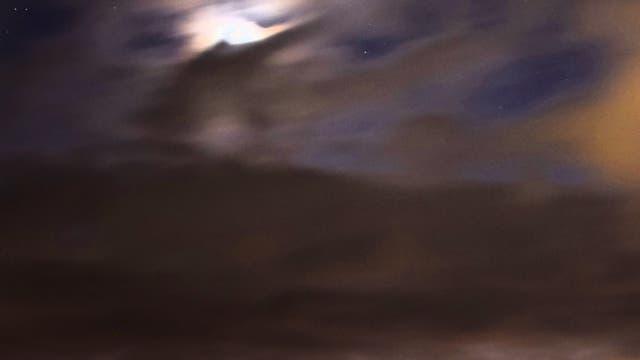 Venus, Mond und die sieben Schwestern
