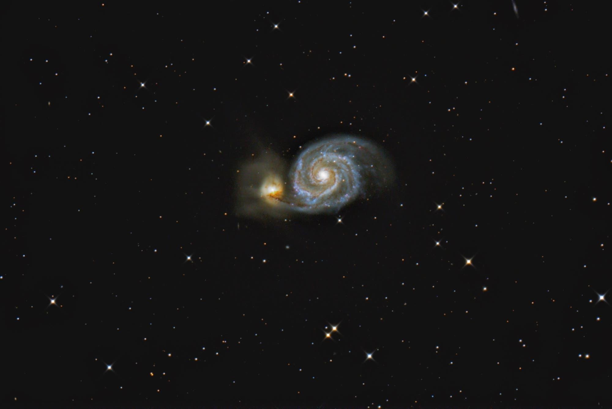 »Whirlpool-Galaxie« Messier 51