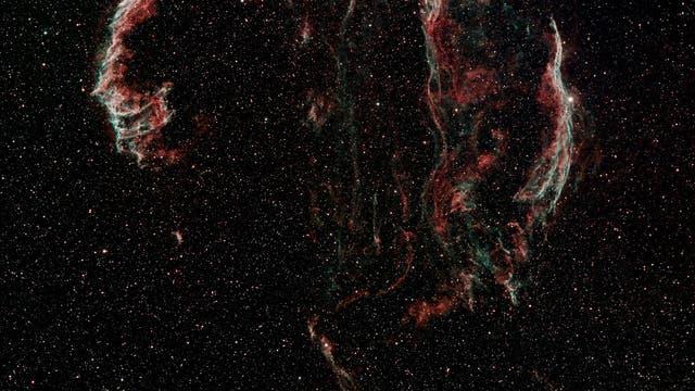 Der Cirrusnebel (Mosaik aus 2 Aufnahmen)