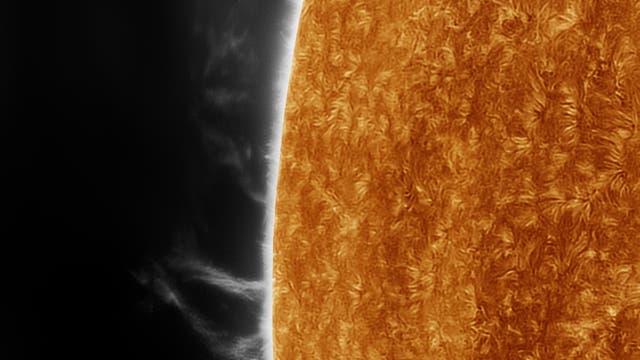 Protuberanz Sonne 21. August 2021