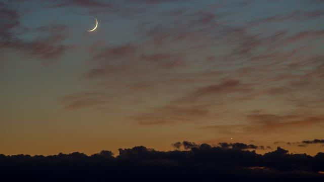 Mond und Venus (5,8°)