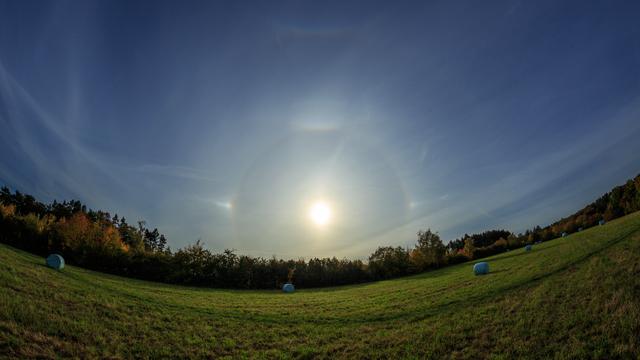 Halophänomen um die Sonne