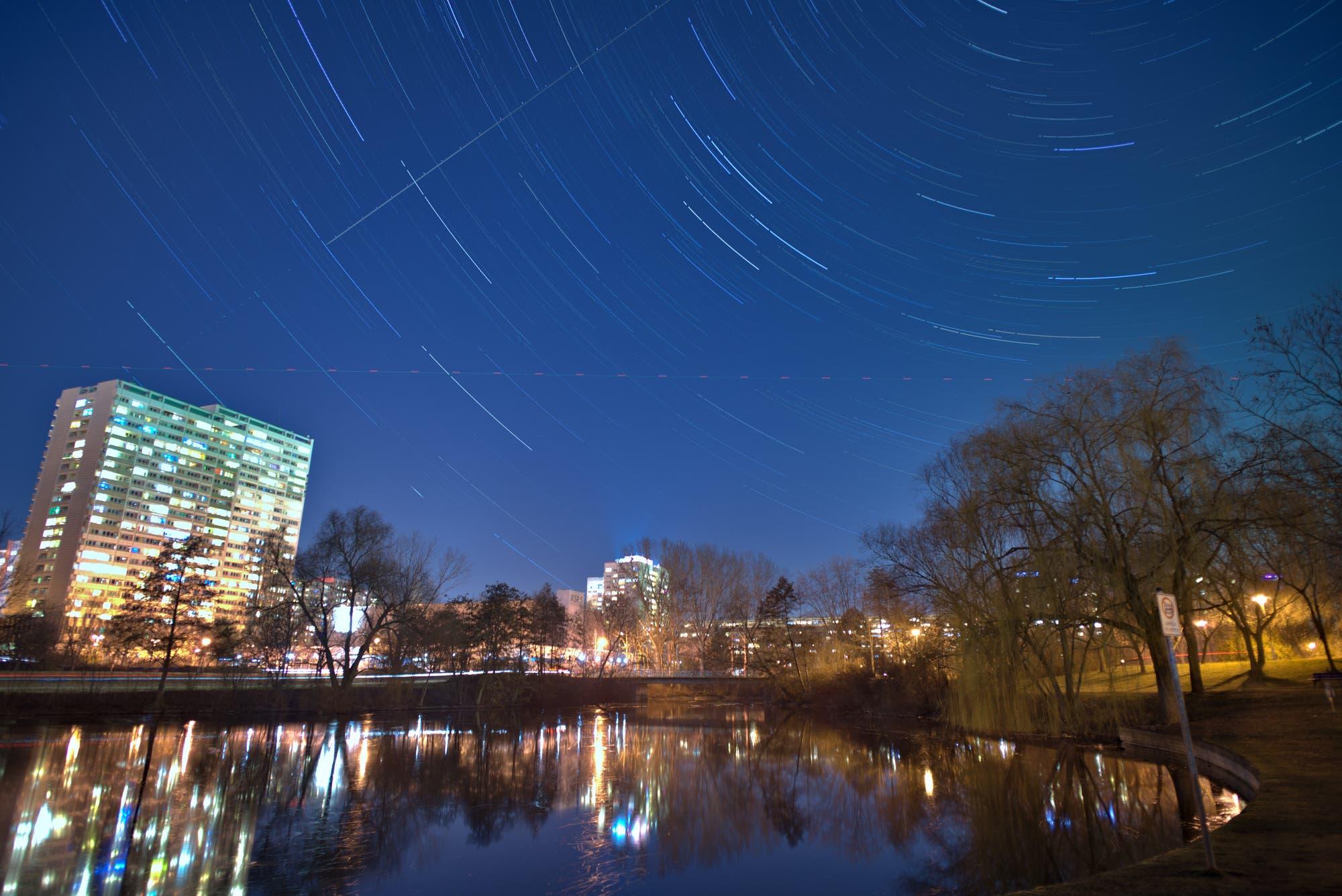 Sternenspuren über Berlin