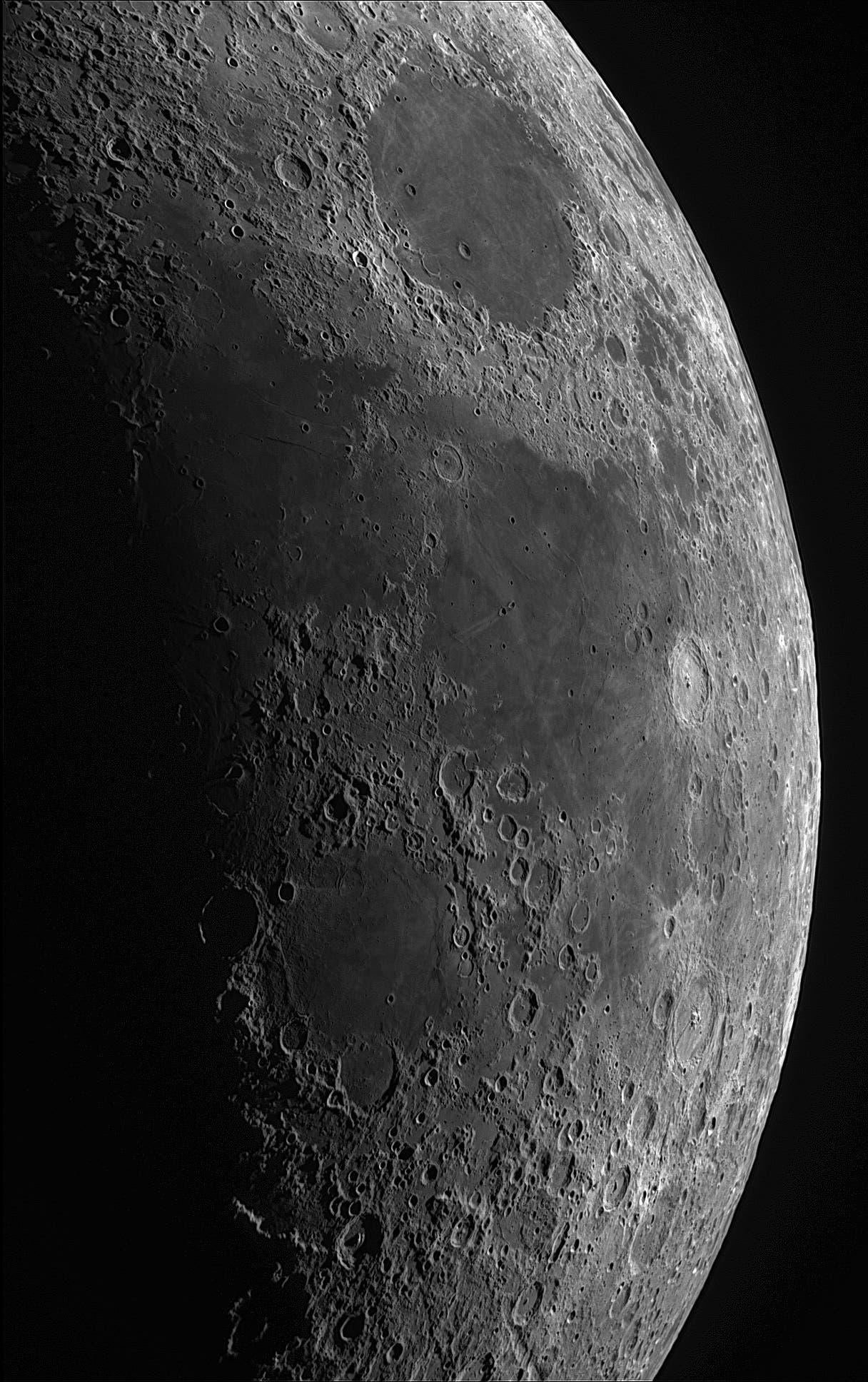 Der Mond am 20. April 2018