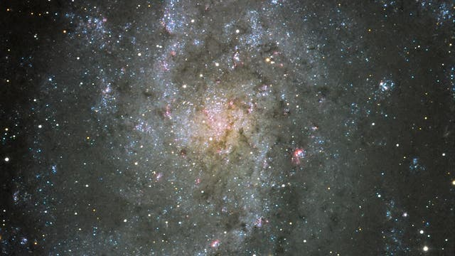 M33 Center of Triangulum Galaxy