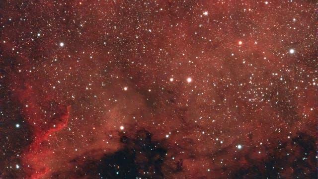 NGC 7000, der Nordamerikanebel