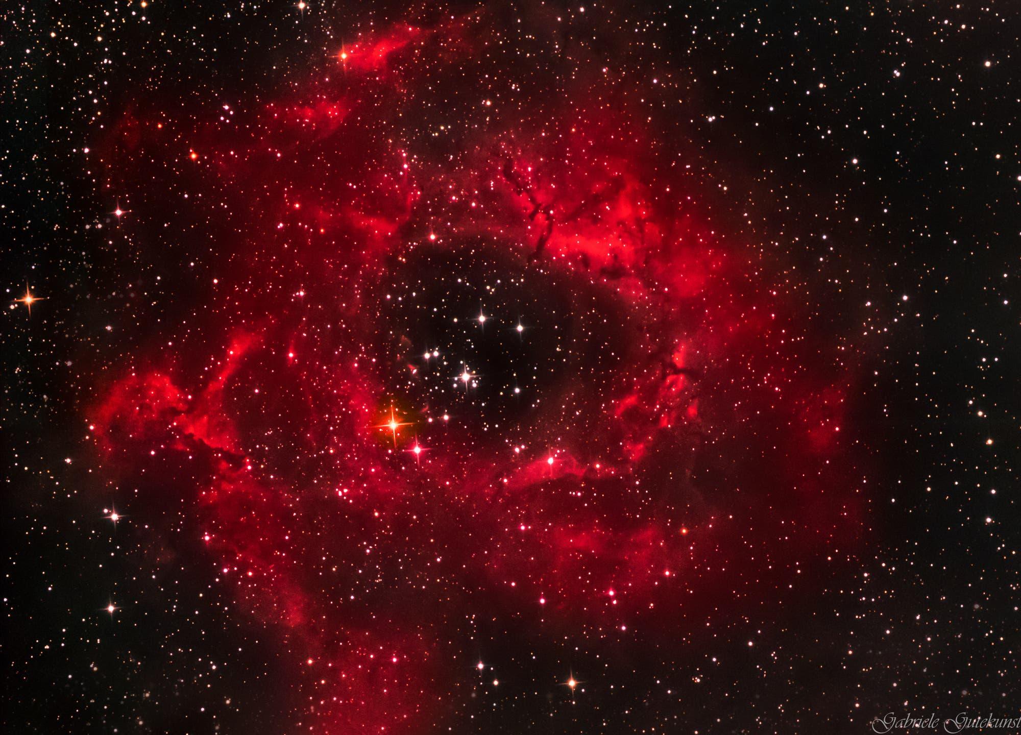 NGC 2237 Rosettennebel