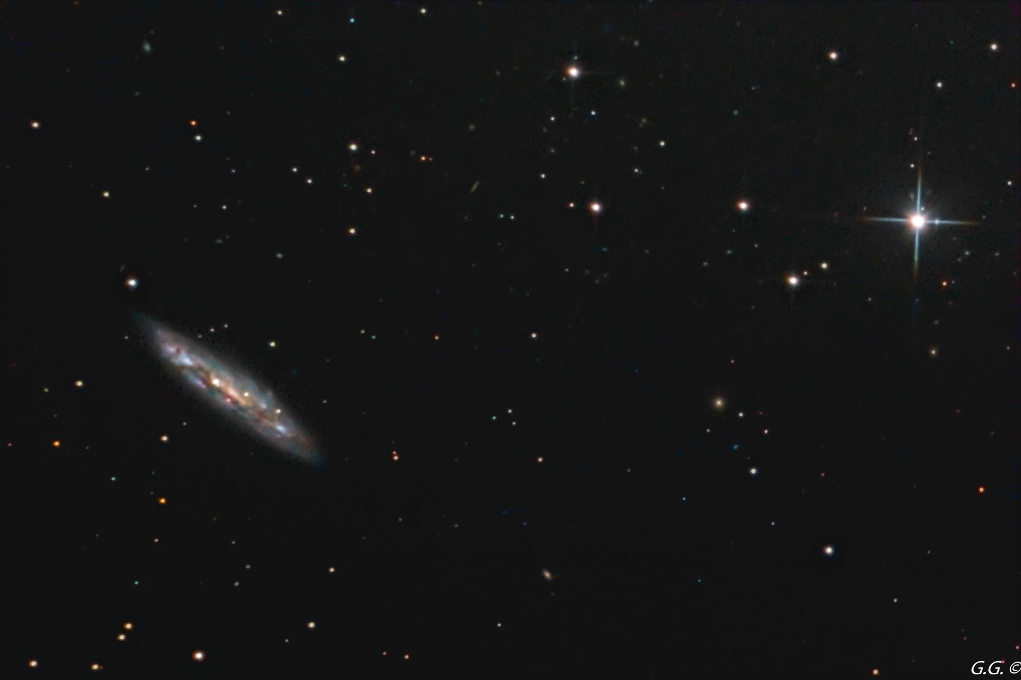 Messier 108 Surfboard-Galaxie