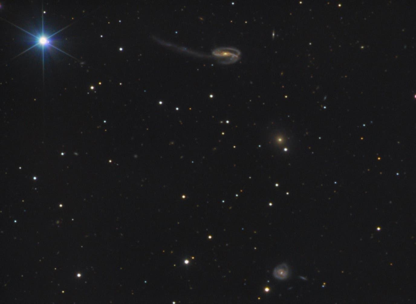 Arp 188 = UGC 10214 Tadpole Galaxy