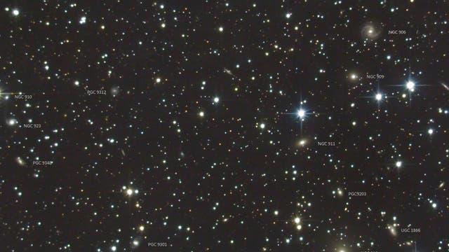 Abell 347 in Andromeda - Bezeichnungen