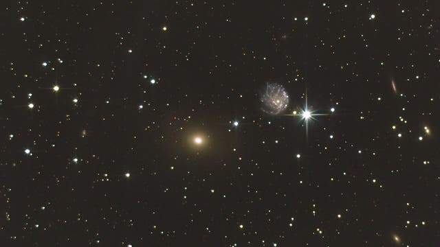 Galaxienpaar im Kepheus