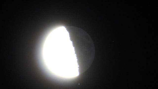 Mond bedeckt Omega 1 Scorpii -- Bild 1