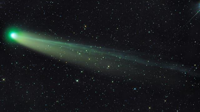 Komet C/2013R1 (Lovejoy) am 15. Dezember 2013