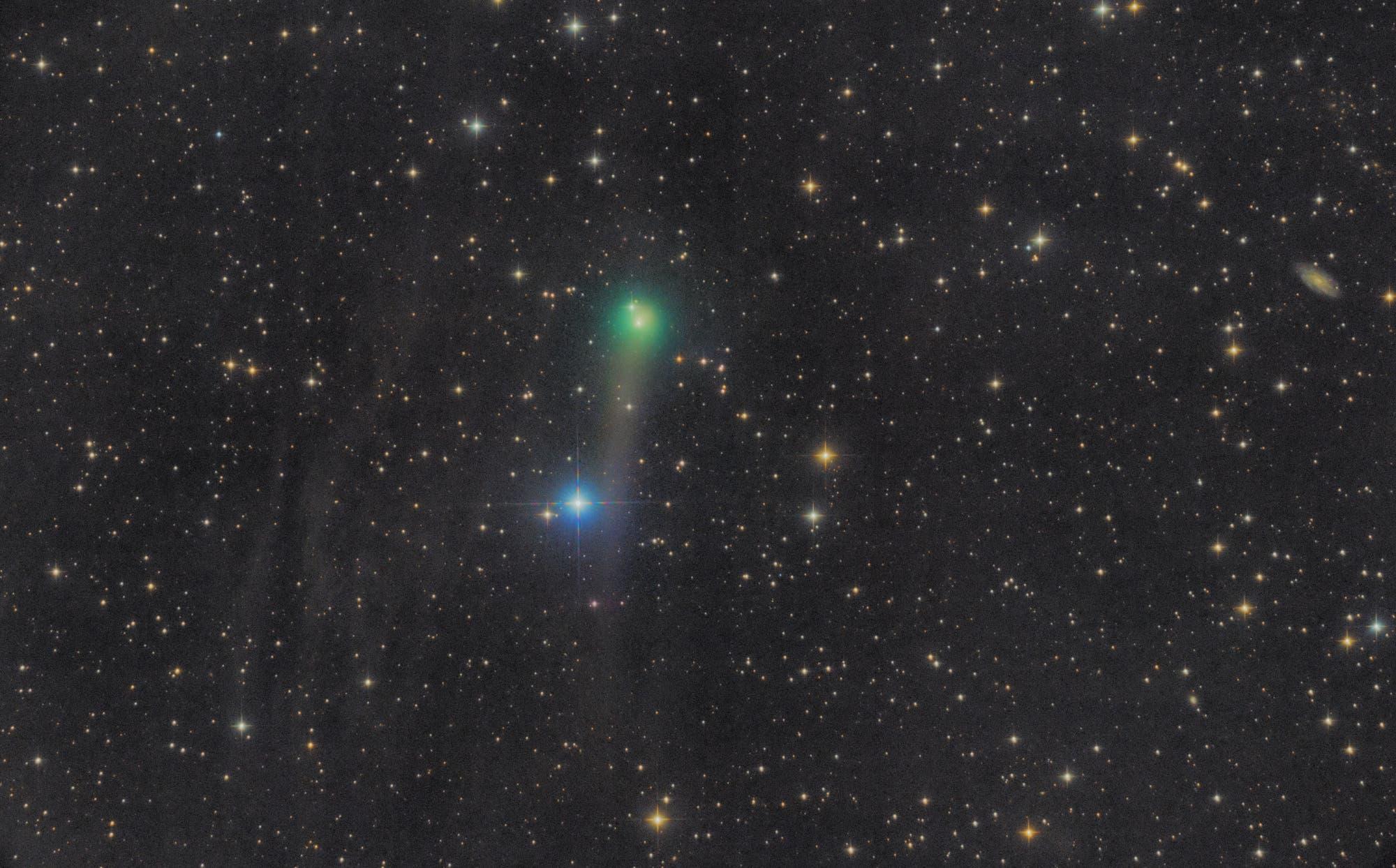 Komet C/2017 T2 PANSTARRS, 17. Mai 2020